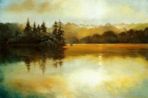 """Waterscapes - """"Highland Lake"""""""